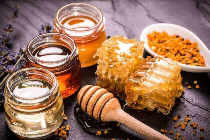 receta miel para garganta